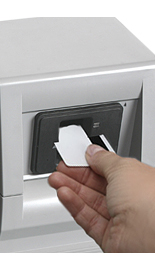 Dip card reader